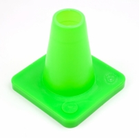 Cones for obedience 15 cm Neongreen