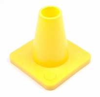 Cones for obedience 15 cm Yellow