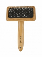 Racinel Comfort BAMBOO slicker brush ball pin