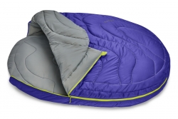 Ruffwear Highlands Dog Sleeping Bag Huckleberry Blue