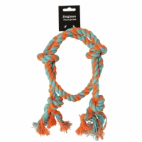 Dogman Dog Toy Rope Ring with knots