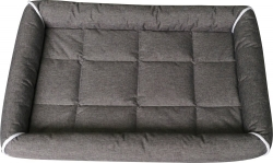 Dogman Buddy Dog Bed With Edges Grey
