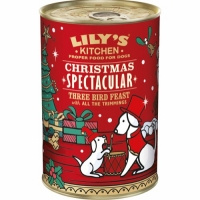 Lily's Kitchen Christmas Three Bird Feast 400 g