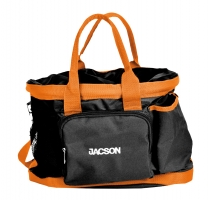Jacson Training Bag Dog Black/Orange