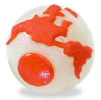 Planet Dog Orbee-Tuff Orbee Ball Glow/Orange
