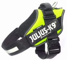 Julius K9 IDC Harness Neongreen (UV)