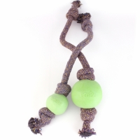 BecoBall with Rope Green