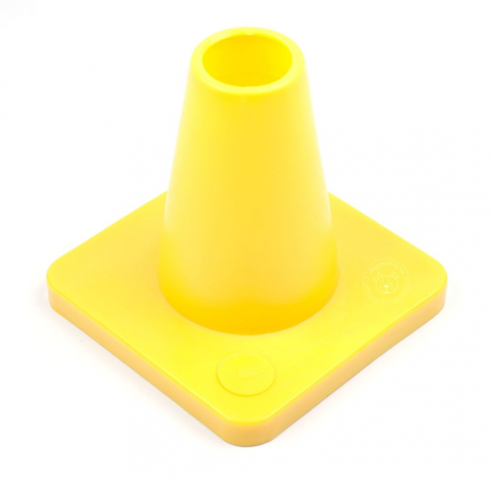 Cones For Obedience 15 Cm Yellow Dog Training Dogmania Cone