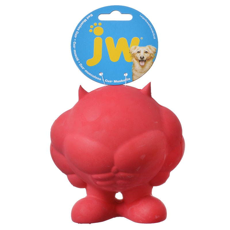 Jw Bad Muscles Cuz Red Dog Toys